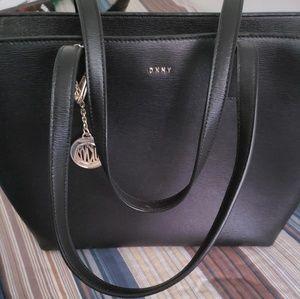 Black DKNY purse